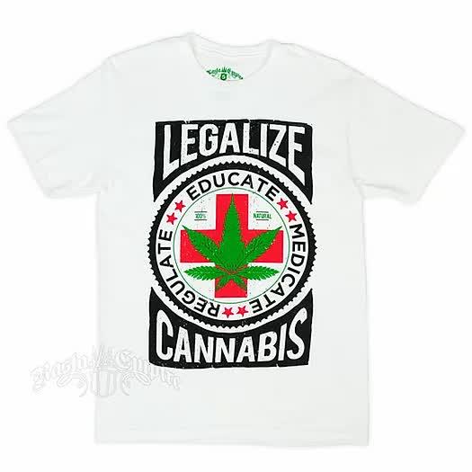 Cannabis_White_Heater_T-Shirt_-_Men